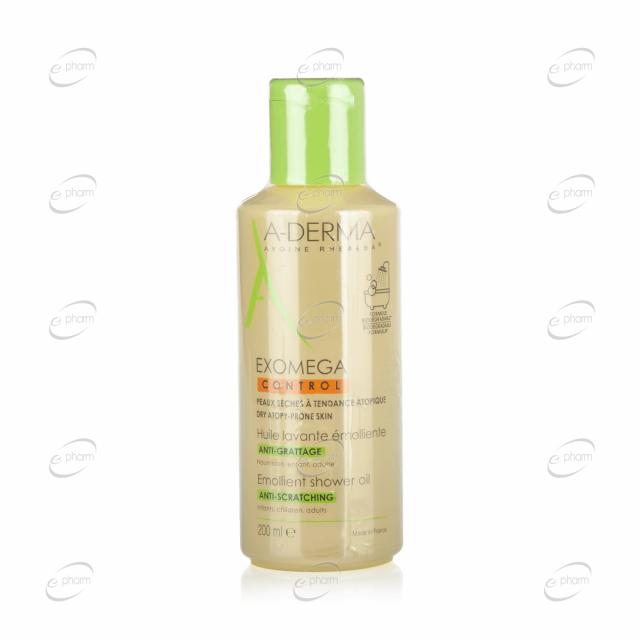 A-DERMA EXOMEGA CONTROL емолиентно душ олио