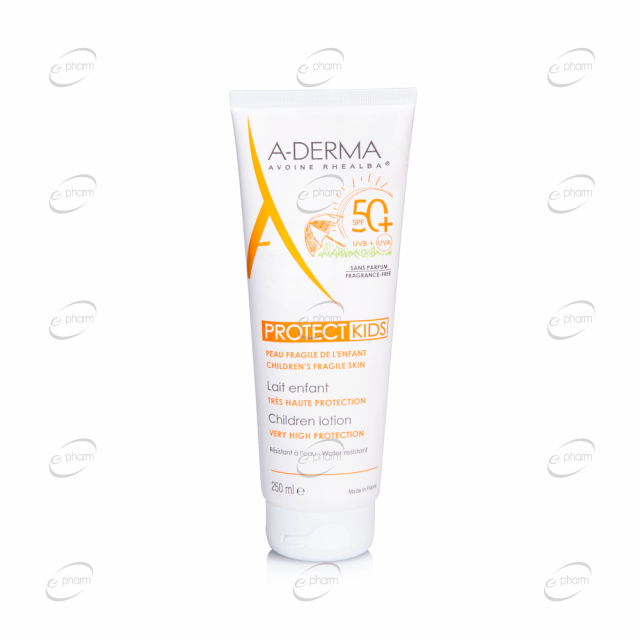 A-DERMA PROTECT KIDS мляко за деца SPF 50+