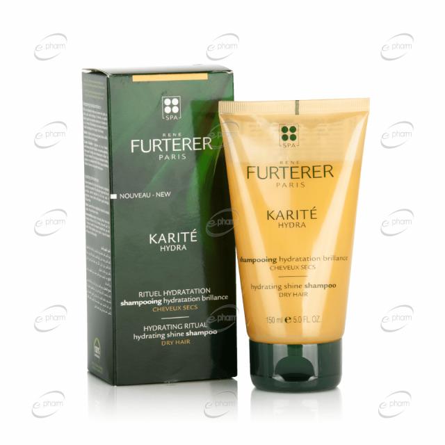 RENE FURTERER KARITE HYDRA  хидратиращ шампоан за блясък