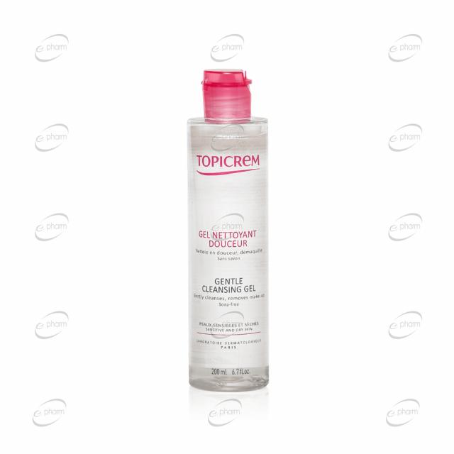 TOPICREM почистващ гел за коса и тяло