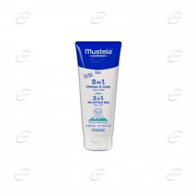 МУСТЕЛА 2 в 1 измиващ гел-шампоан за коса и тяло