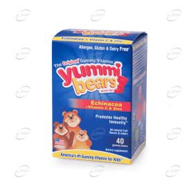 YUMMI BEARS Ехинацея + Витамин С и Цинк