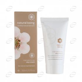 NATURAL BEING Manuka Honey Day Cream - мазна към нормална кожа