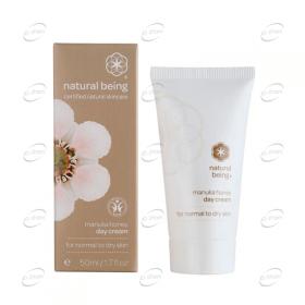 NATURAL BEING Manuka Honey Day Cream - нормална към суха кожа