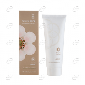 NATURAL BEING Manuka Cleanser – мазна към нормална кожа