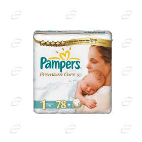 Pampers Premium Care №1